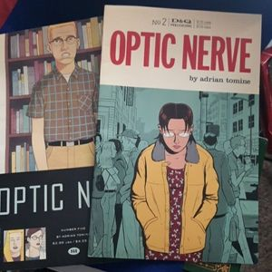2 BOOKS: BY ADRIAN TOMINE (OPTIC NERVE)